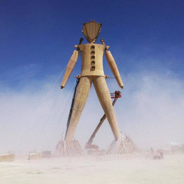 Burning Man Is Definitely Delivering This Year