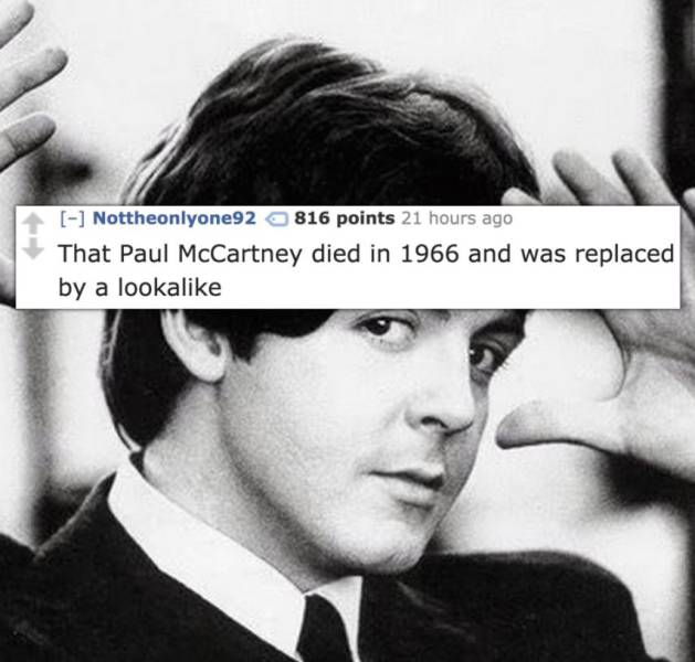 Please, Stop Believing These Stupid Conspiracy Theories…