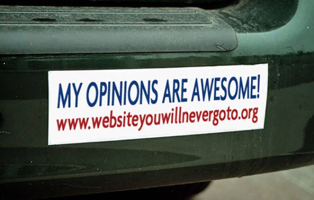 Hilarious Bumper Stickers Are Always A Thing To Read In A Traffic Jam