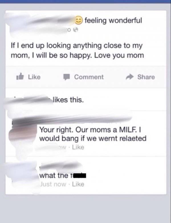 Sometimes Family Members Go Too Far…