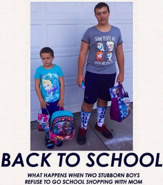 Beginning Of The School Is Actually A Holiday For Some Parents