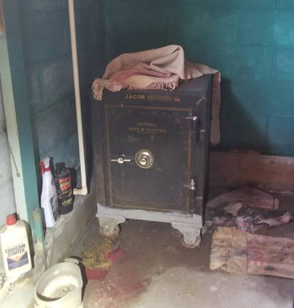 Great Uncles Hide Some Pretty Interesting Things In Their Old Safes…