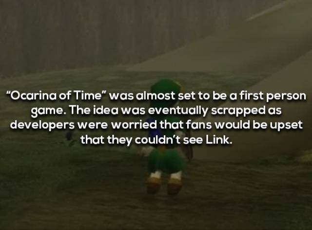 "Here's Your Link To ""Legend Of Zelda"" Facts"