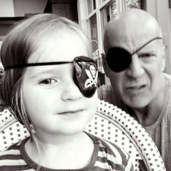 Bruce Willis Must Be Such A Great Dad!