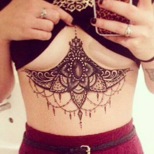 Underboob Is Officially The Best Place For A Tattoo!