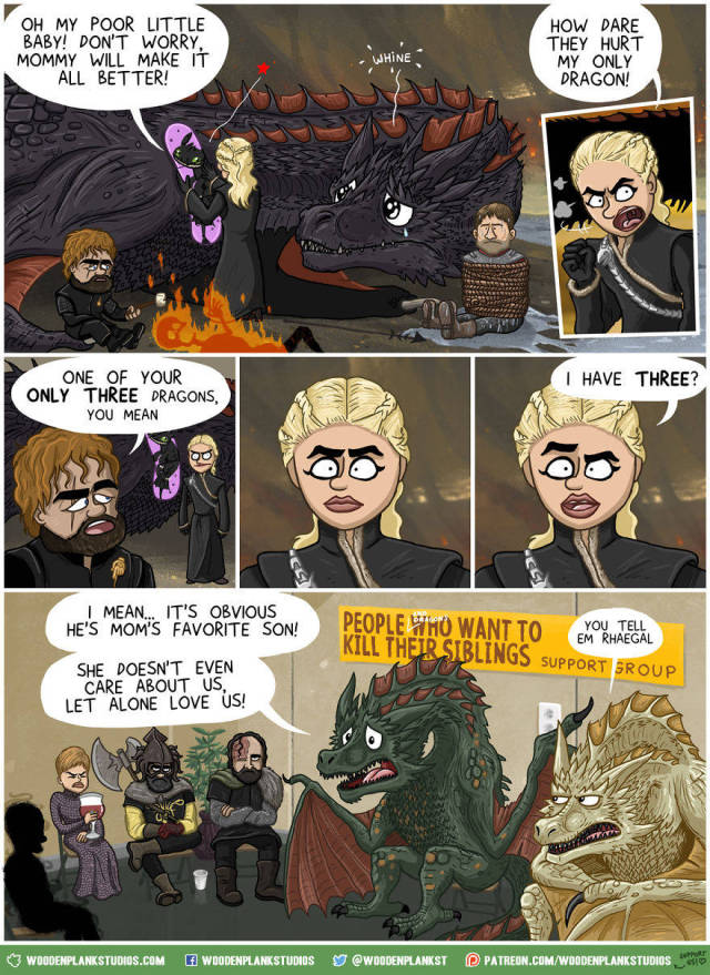 """Game Of Thrones"" Season 7 Can Be Summed Up Just With These Comics"
