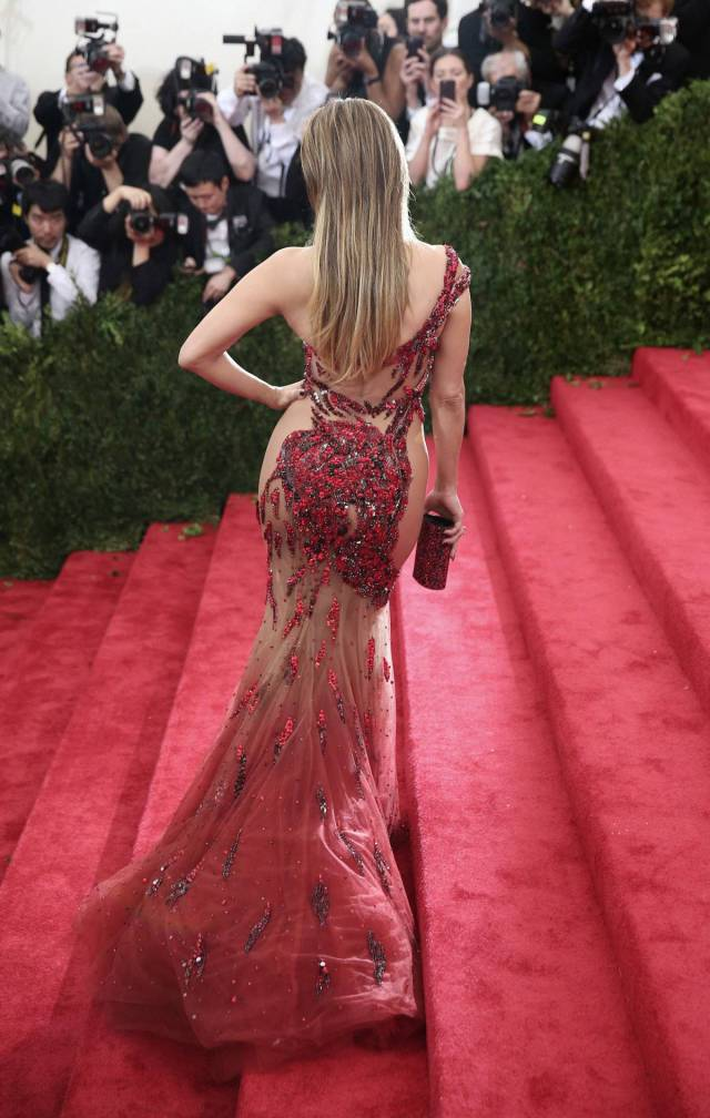 "These Dresses Are Almost As If Celebs Have A ""Who Strips Better"" Contest"
