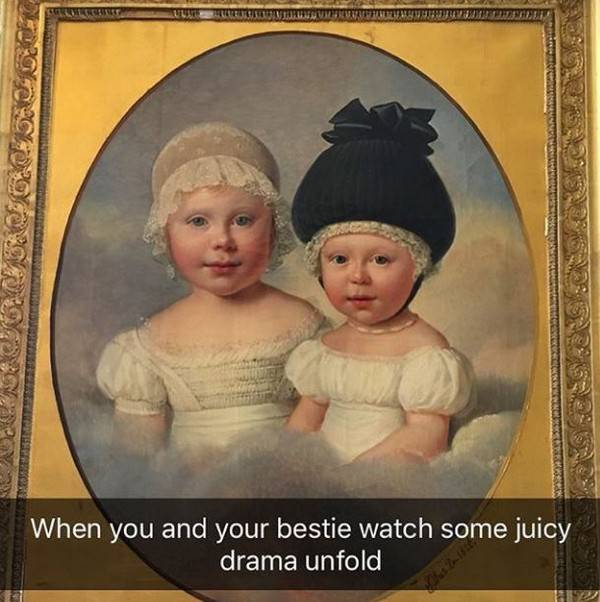 These Paintings Need A Bit Of Explanation