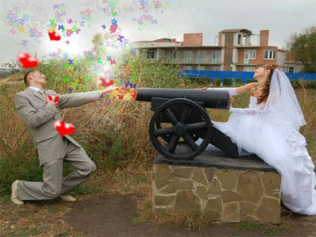Wedding Photos Can't Be This Bad. But In Russia…