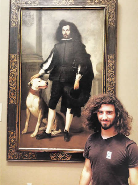 Imagine Finding Your Doppelgänger In A Museum!