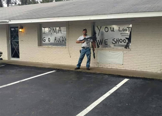 Even Hurricane Irma Can't Destroy Floridian Sense Of Humor!