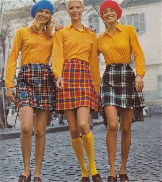 The Origins Of Mini Skirts From The 60s