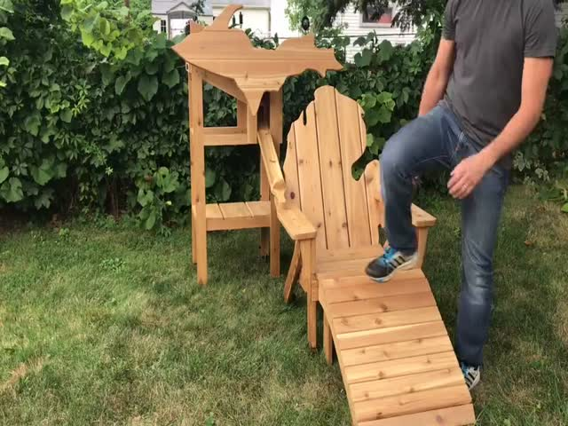 A Chair That Each Backyard Needs!