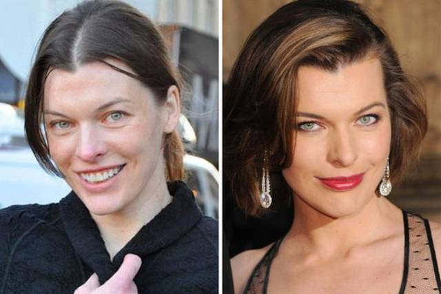 Celebs Don't Need Makeup To Be Gorgeous