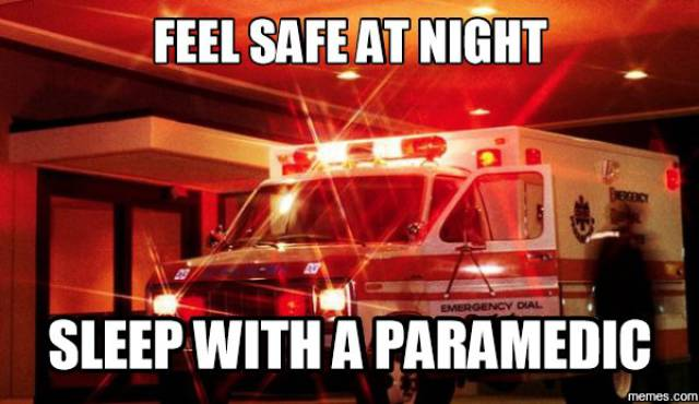 The Only Funny Thing In Life Of Paramedics Is Memes