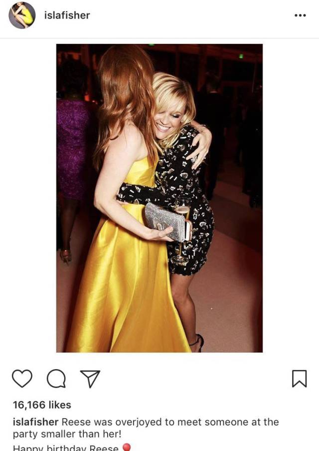 Isla Fisher Gets All The Instagram Captions Right