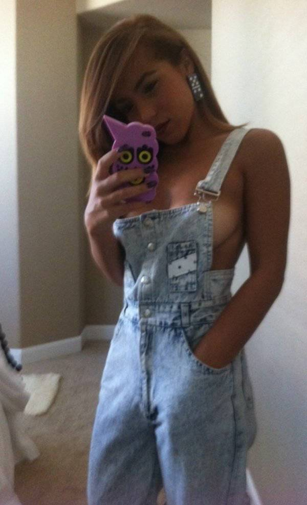 Overalls Are Sexy In Mysterious Ways…