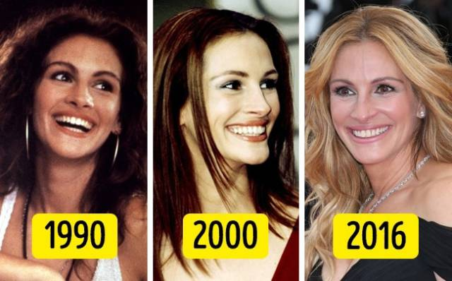 For Some Celebrities, Age Changes Nothing