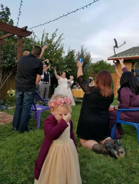 Kids Simply HATE Weddings!