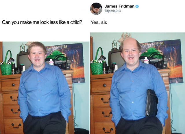 James Friedman Destroys People With Photoshop Once Again!