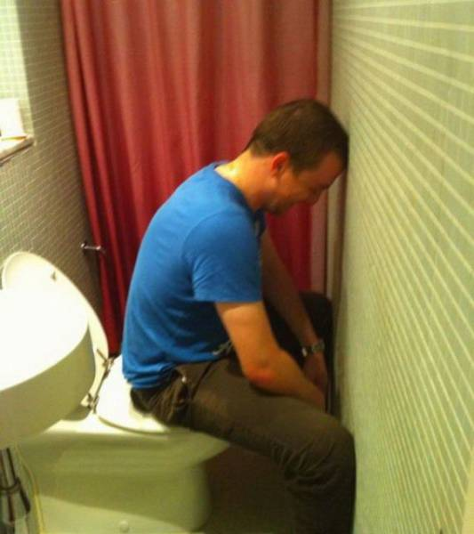 Plumbers Can't Always Be Good