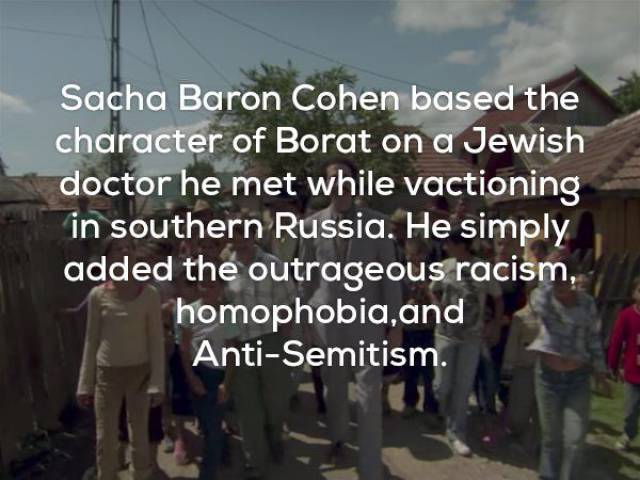 Controversially Hilarious Facts About Sacha Baron Cohen And His Creations