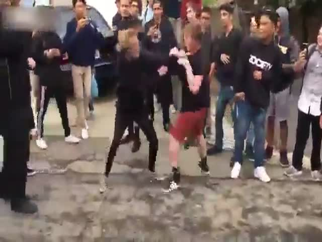 That Bullied Kid Wasn't The One To Be Taken Down Easily