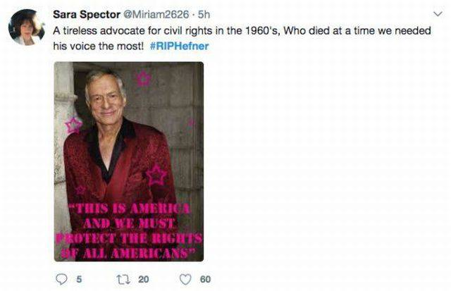 Internet Can't Help But React To Hugh Hefner's Passing