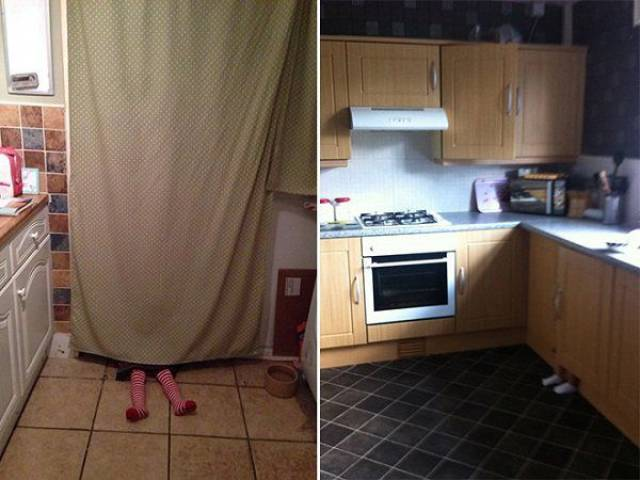 Hide And Seek Professionals At Work