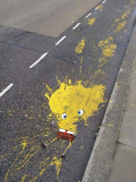 Some Street Art You Just Can't Call Vandalism
