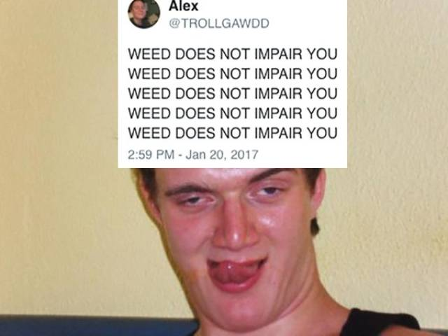 WEED DOES REALLY IMPAIR YOU
