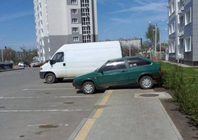 Parking Is A Very Hard Task…