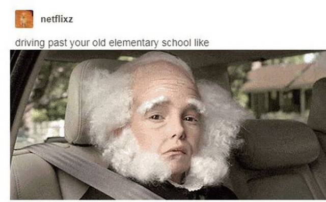 You're Getting Older, Meme With It