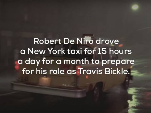 "Non-Stop Facts About ""Taxi Driver"""