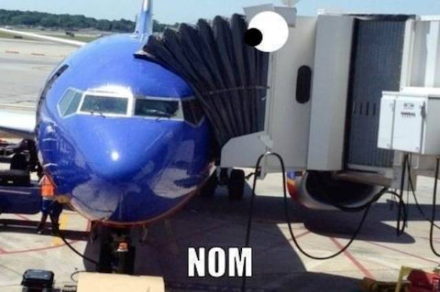 Airplane Humor Is Always High Above Everything Else