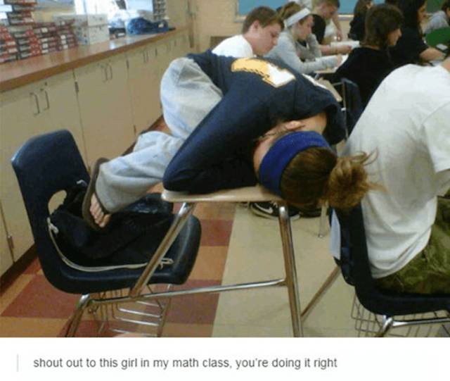 All Kinds Of Strangest Stuff Is Going On In Those Classrooms
