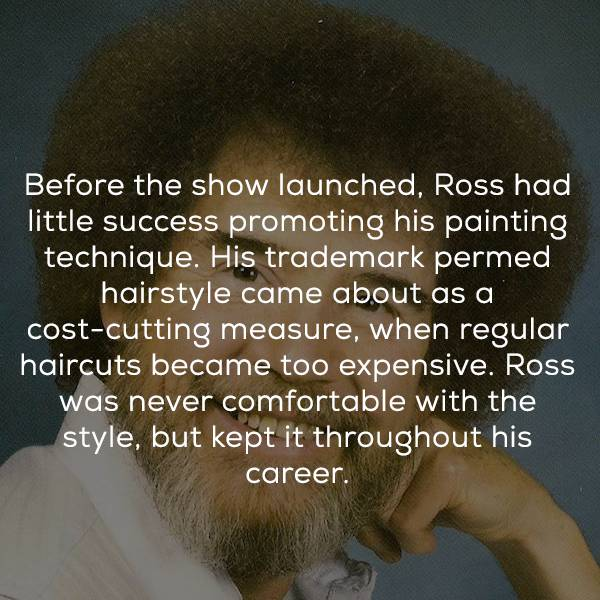 Nothing Happier Than Some Bob Ross Facts