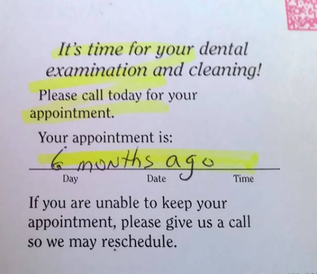 Dentists Have A Very Special Kind Of Humor