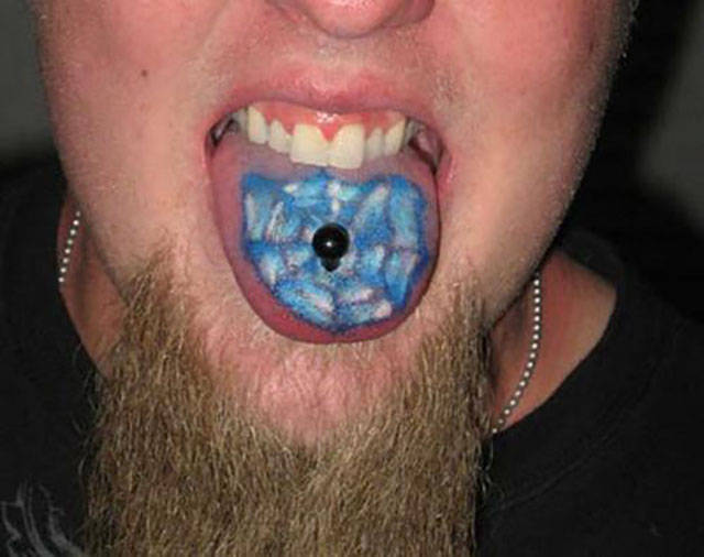 Fashion Takes A New Turn With Tongue Tattoos