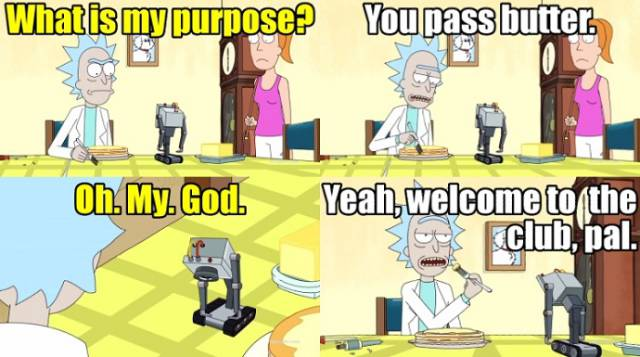 "Here Are The ""Rick And Morty"" Memes, Even If They Don't Want To Be Here"