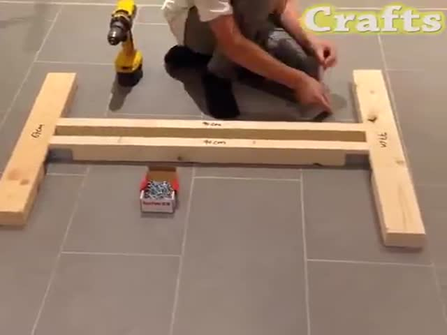 Go-Kart Can Be Made Even Using Wood Only