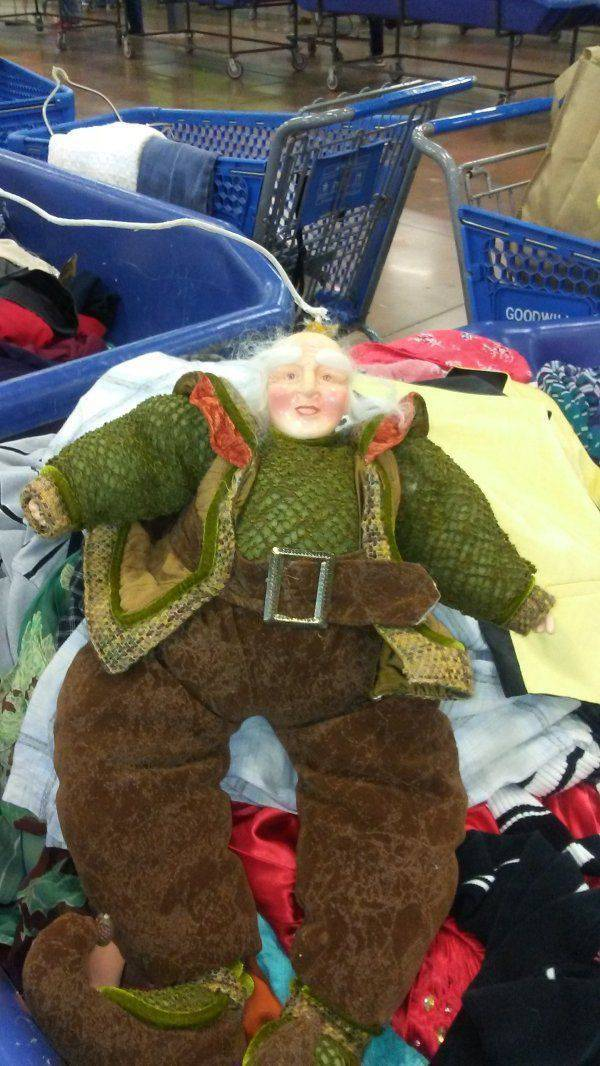 Thrift Shops Have Everything That's Awkward