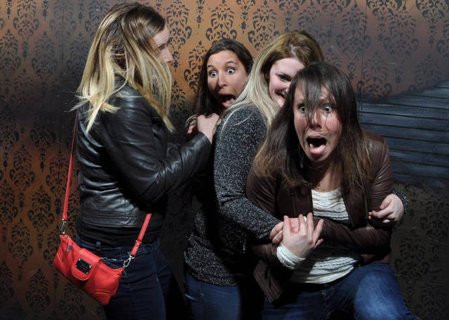 Secret Cam Catches All The Reactions From The Haunted House