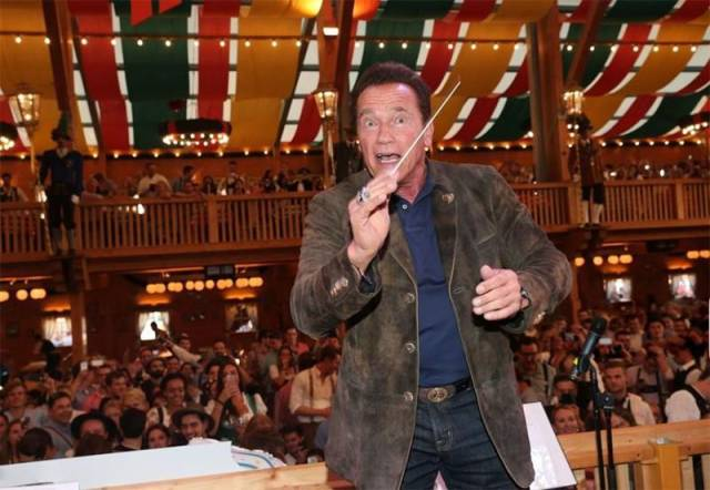 Arnie Loves Beer And Never Misses An Oktoberfest!