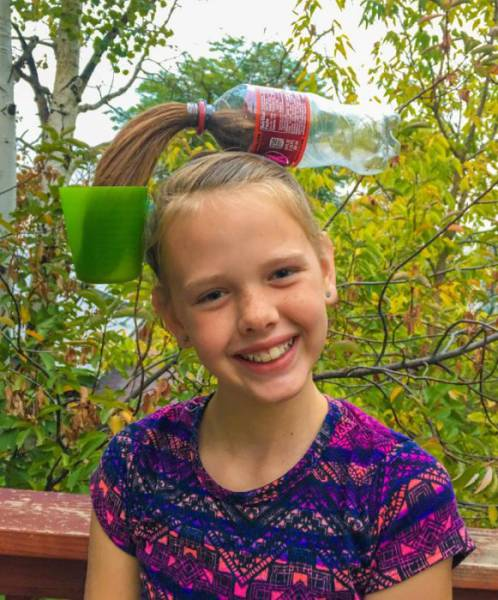 """Crazy Hair Day"" At School Has Seen All Kinds Of Shocking Hairdos…"
