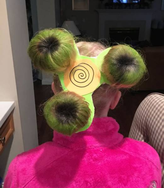 Crazy Hair Day At School Has Seen All Kinds Of Shocking