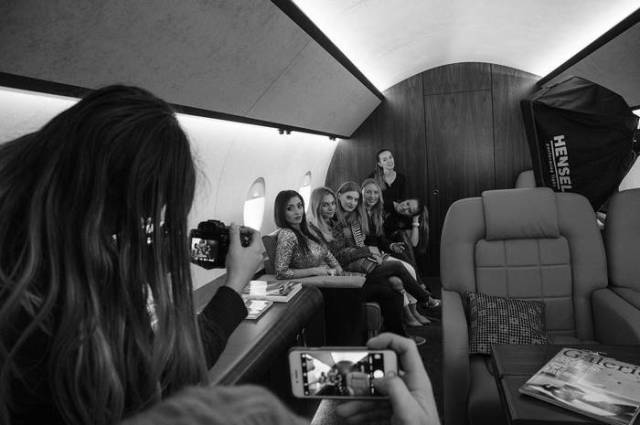 In Russia, You Can Now Rent A Private Jet Just To Take Luxurious Photos With It