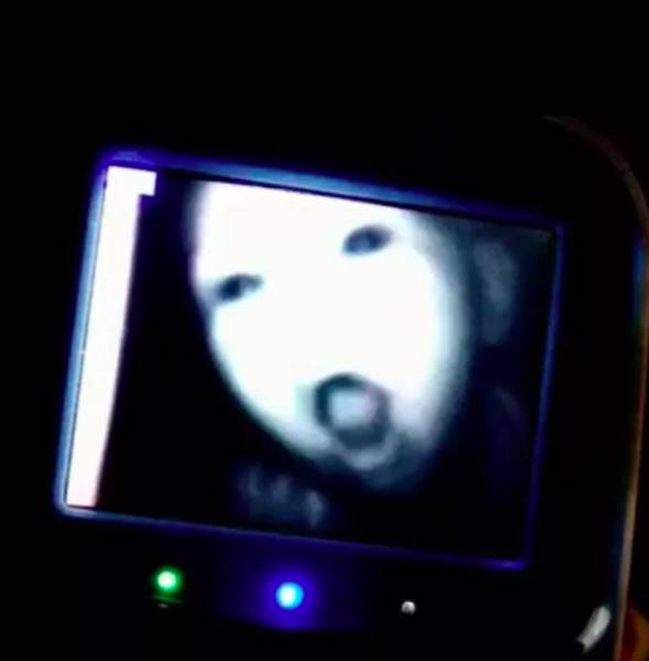 Baby Monitors Reveal Demons Living Inside The Kids