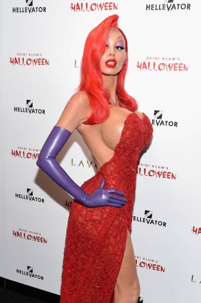 Heidi Klum Is Most Definitely The Queen Of Halloween Costumes
