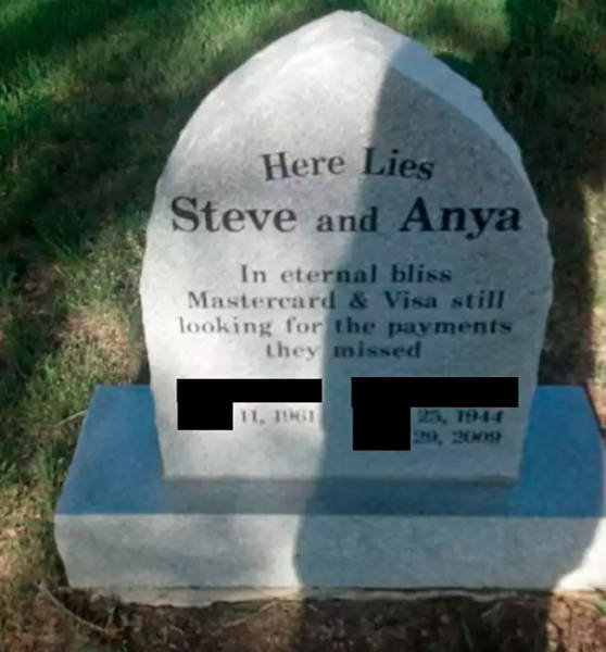 Epitaph Is Just One Last Place For Humor